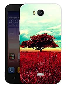 """Humor Gang Vintage Old Tree Printed Designer Mobile Back Cover For """"Huawei Honor Bee"""" (3D, Matte, Premium Quality Snap On Case)"""