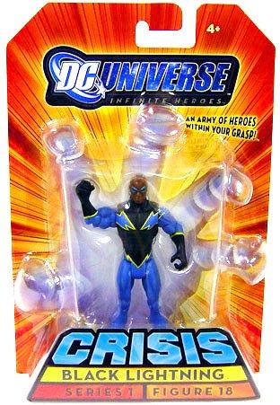 Buy Low Price Mattel DC Universe Infinite Heroes Black Lightning Figure (B001ACNWSY)