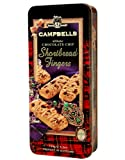 Campbells All Butter Chocolate Fingers - Shortbread Fingers, Traditional Shortbread in Gift Tin - 410