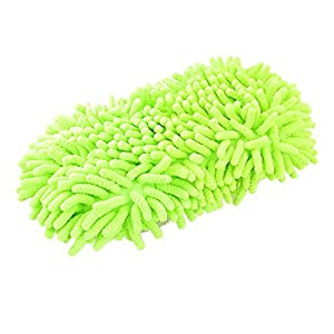Single Sided Car Wash Pad Microfiber Sponge Cleaning Valeting Brush from Amico
