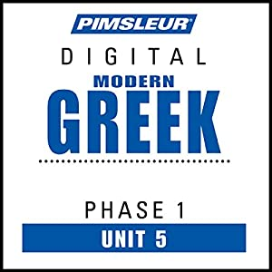 Greek (Modern) Phase 1, Unit 05 Audiobook