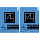 2 X Canson Watercolor Paper Pad, 30-Sheet, 9-Inch by 12-Inch, X-Large (Tamaño: 2 Pack)