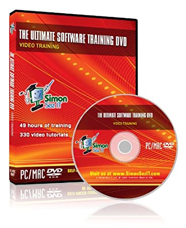 The Ultimate Software Training DVD: Training Tutorials for Adobe Photoshop Elements 9, Microsoft Windows 7, QuickBooks Pro 2011 and Microsoft Office 2010 training for Excel 2010, Word 2010, Access 2010, PowerPoint 2010, and Outlook 2010 - 49 Hours of Software Training with 330 Videos
