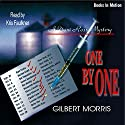 One by One: Dani Ross Mystery Series #1 Audiobook by Gilbert Morris Narrated by Kris Faulkner