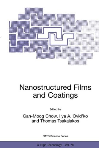 Nanostructured Films And Coatings (Nato Science Partnership Subseries: 3)