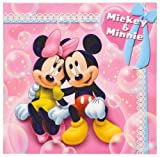 FUJICOLOR photo mount Disney Mickey & Minnie 2L character Pink 19526 (japan import)
