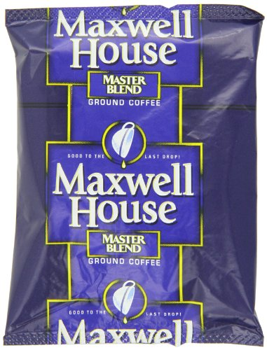Maxwell House Master Blend Ground Coffee, 1.25-Ounce Packages (Pack Of 42)