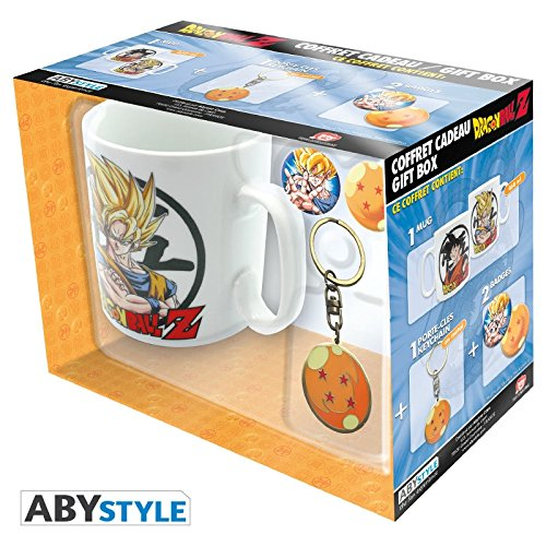 tazza Dragonball Z Gift Box Set (4)