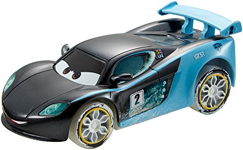 Disney/Pixar Cars Ice Drifters 1:43 Scale Pullback Drifter Vehicle, Lewis Hamilton