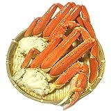 黒帯 ズワイガニ 足 天然 ボイル 本ずわい蟹 足 かに 脚 特大 3L 良品選別済 (2kg 6-8肩)