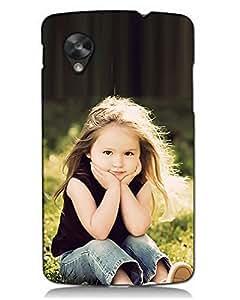 MobileGabbar LG Nexus 5 Back Cover Plastic Hard Case