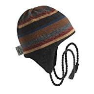 Turtle Fur - Men's Cobra, Classic Wool Ski Earflap Hat