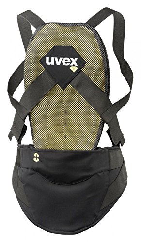UVEX-Herren-Back-Pure-Skiprotektor-Dark-Grey-M