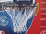 Buy Huffy 7801S Slam Jam Basketball Rim (Black) by Spalding