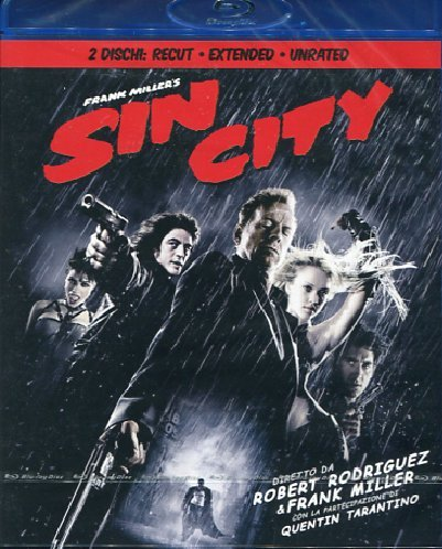 Sin city (extended version) [Blu-ray] [IT Import]