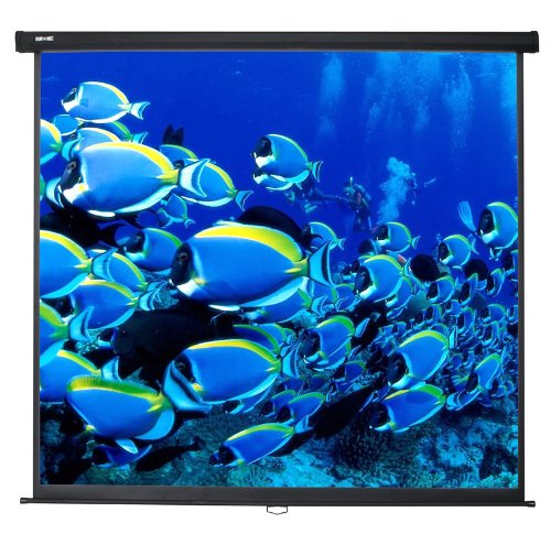 Duronic MPS70 Manual Pull Down HD Projector Screen - 70