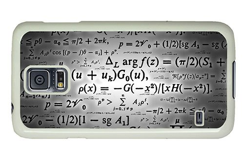 Hipster Samsung S5 Sale Cover Calculation Formulae Pc White For Samsung S5 front-887891