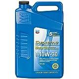 Chevron Supreme 220155474 10W-30 Motor Oil - 5 Quart