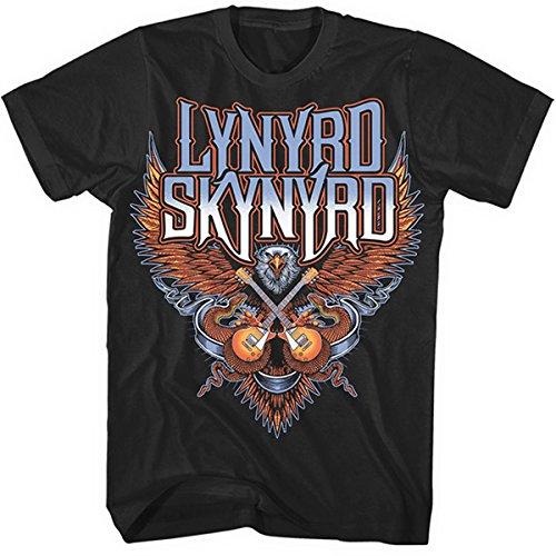 Lynyrd Skynyrd Crossed Guitars T-Shirt nero S