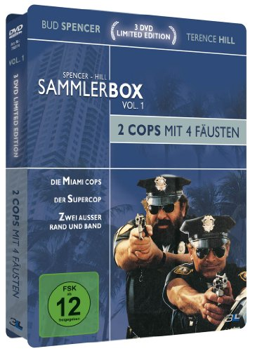 Bud Spencer & Terence Hill Sammlerbox Vol. 1: 2 Cops mit 4 Fäusten (3 DVDs) [Limited Edition]