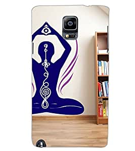 SAMSUNG GALAXY NOTE 3 YOGA Back Cover by PRINTSWAG