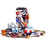 Personal Survival Kit and Emergency Pack for Cars, Trucks, RVs, and Trailers (Waterproof)