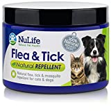 All Natural Flea and Tick Prevention For Dogs and Cats - Effective For The Control of Fleas, Ticks, and Other Parasites - 100% Safe Alternative to Spot Drops, Sprays and Collars - 4oz Powder