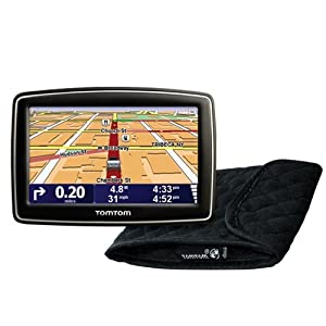 51fVV19jU2L. AA300  TomTom XL 340S 4.3 Inch Portable GPS Navigator Bundle with Case   $90 Shipped
