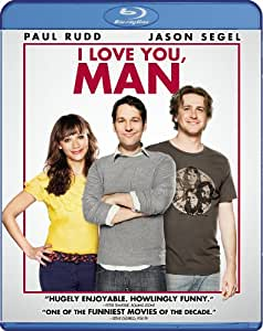 NEW Rudd/jones/segal - I Love You Man (Blu-ray)