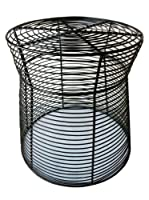 Pangaea Home and Garden Wrought Iron Wire Side Stool from Pangea Trading Company - Dropship