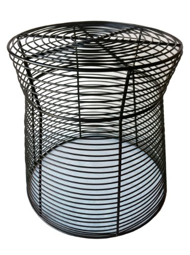 Pangaea Home and Garden Metal Wire Side Table photo