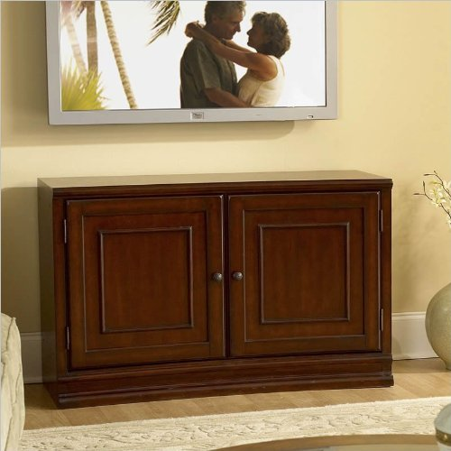 Riverside Furniture Ambiance 48 Inch TV Stand in Sangria Cherry