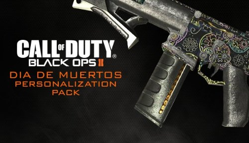 Call Of Duty: Black Ops Ii - Dia De Los Muertos Mp Personalization Pack [Online Game Code]