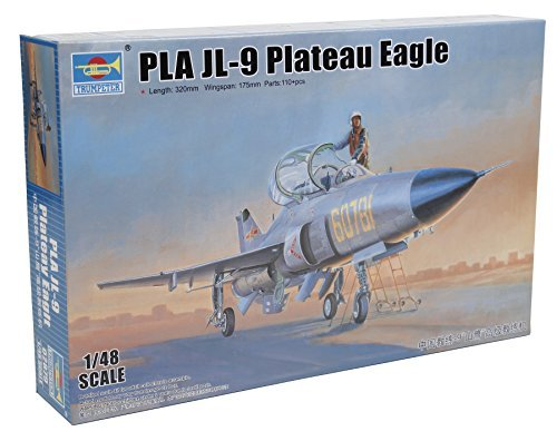 1-48-china-air-force-jl-9-jet-trainer-by-trumpeter-scale-models