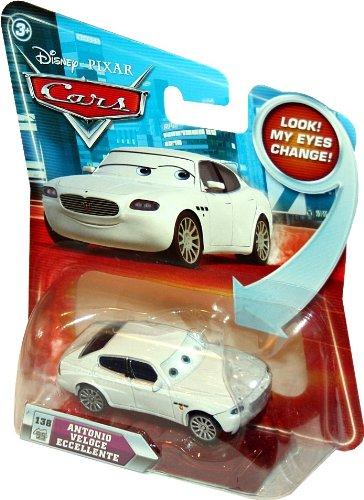 ANTONIO VELOCE ECCELLENTE #138 w/ Lenticular Eyes Disney / Pixar CARS 1:55 Scale Die-Cast Vehicle by Unknown