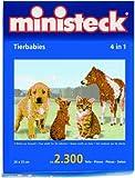 Ministeck 32787 - Tierbabies, 2.300 Teile hergestellt von ministeck creativ
