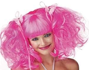 Wig Pink Rose Pixie