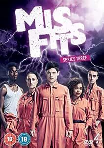Misfits: Series 3 [DVD]