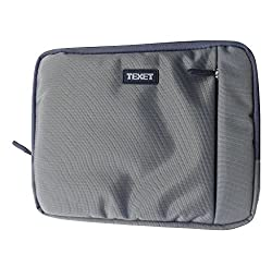 Texet HICC-012 Grey iPad Protective Sleeve with Zipper for iPad 4, iPad 2, new iPad