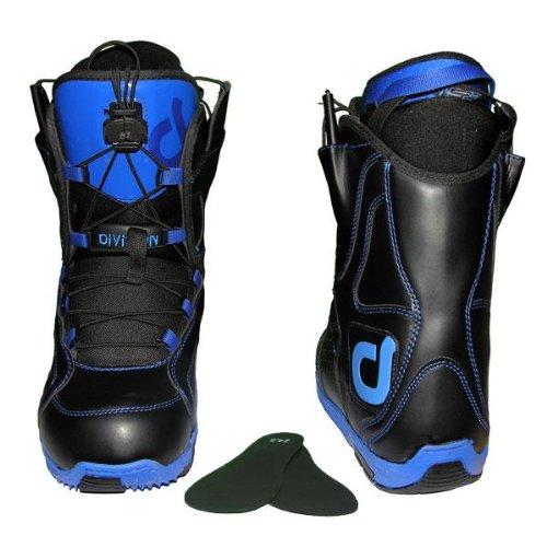 50%OFF DIVISION メンズ スノーボードブーツ ブルー26cm