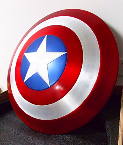 Gmasking Aluminum Alloy Captain America Adult Shield 1:1 New Replica