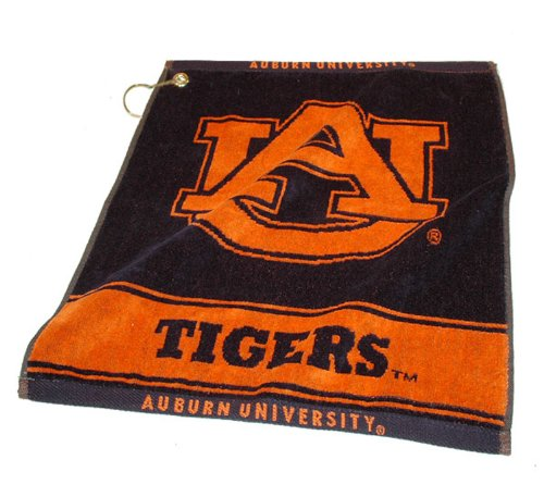 NCAA Auburn University Woven Team Golf Towel at Amazon.com