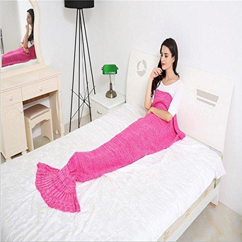 WEISHENMEN Progettato per sirena maglia coperta creativo divano a casa di aria condizionata coperta Dimensioni: 180 * 90cm BULAIDANZI