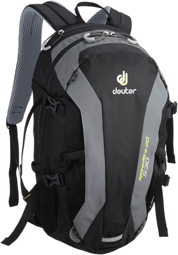 Deuter Alpinrucksack Speed lite 20, black-titan, 48 x 26 x 18, 33121