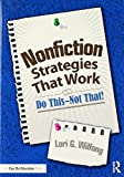 Nonfiction Strategies That Work: Do This--Not That! (Eye on Education)