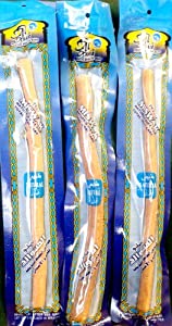 "Natural Fresh Moist Vacuum-packed 8"" Miswak (3 sticks) - Tooth and Gum Care (natural flavor)"