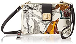 Sakroots Artist Circle Smartphone Cross Body , Natural Peace, One Size