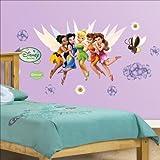Fathead Disney Disney Fairies Junior Wall Graphic