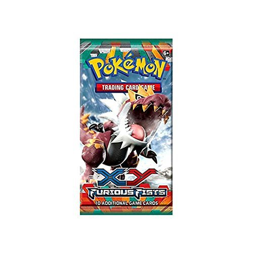 Pokemon-Cards-XY-Furious-Fists-Booster-Pack-10-cards