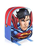 SUPERMAN Mochila 3D Superman (Azul)